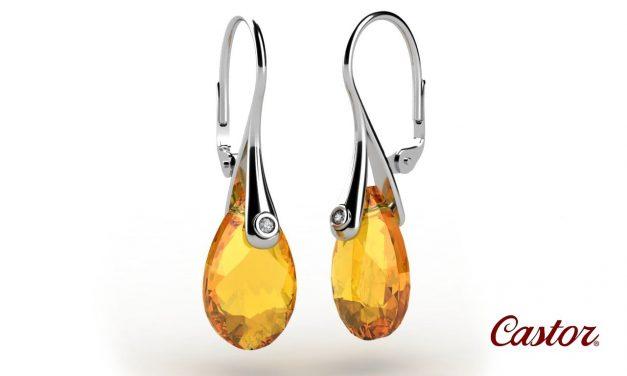 Zlaté šperky Castor