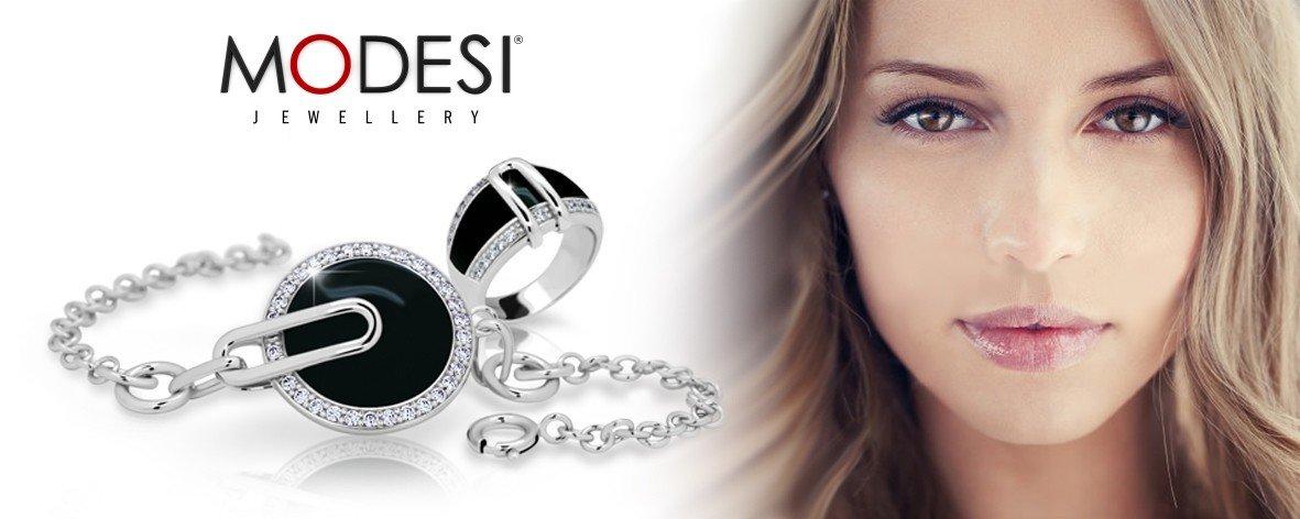 Moderní stříbrné šperky MODESI