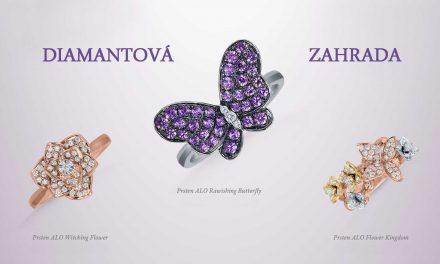 ALO DIAMONDS nové šperky s motivy květin a motýlů