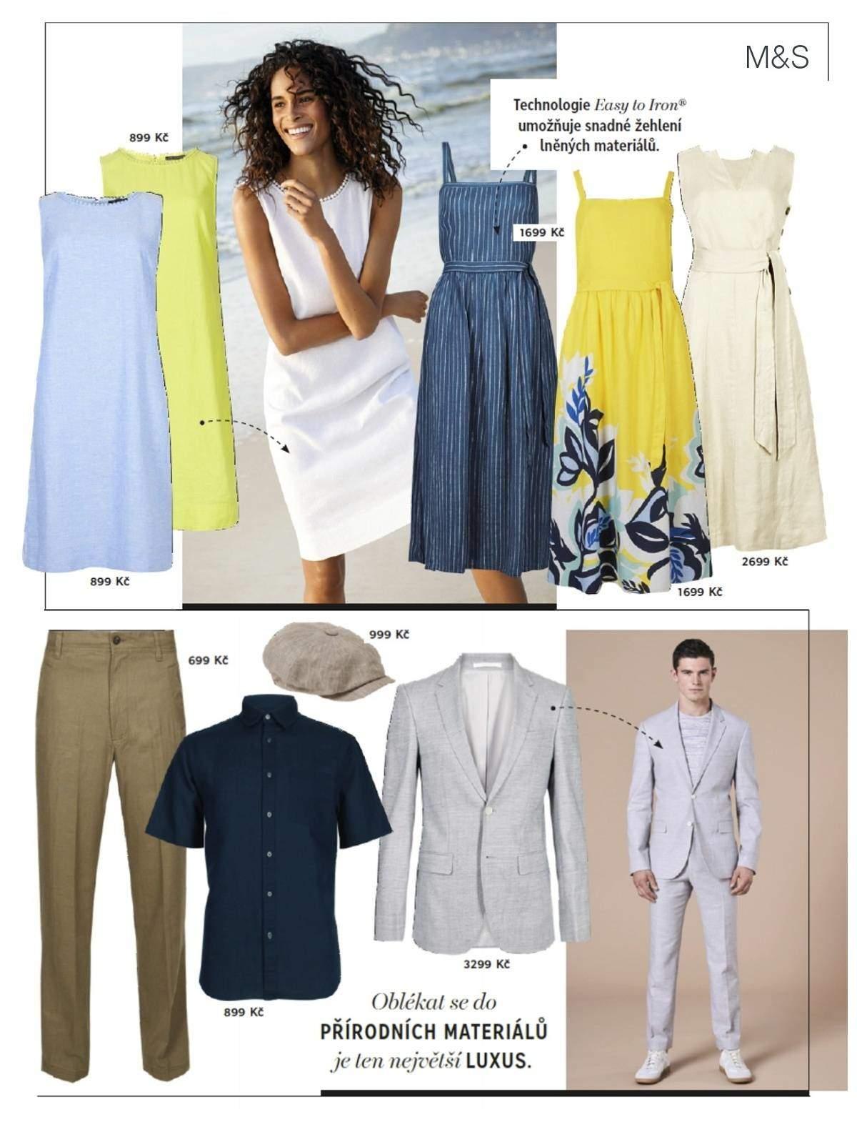 Letní lněná móda Marks Spencer 2ef07d1d58
