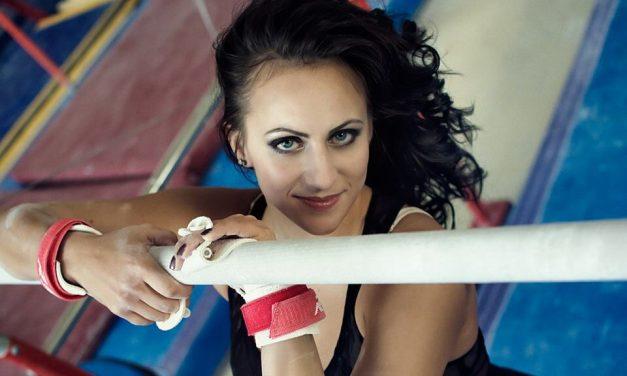 Móda vesportovní gymnastice, Kristýna Pálešová a její dresy