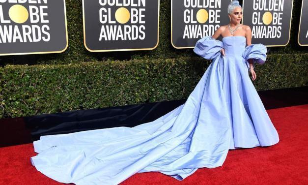 LADY GAGA na Golden Globes v Tiffanyho diamantech