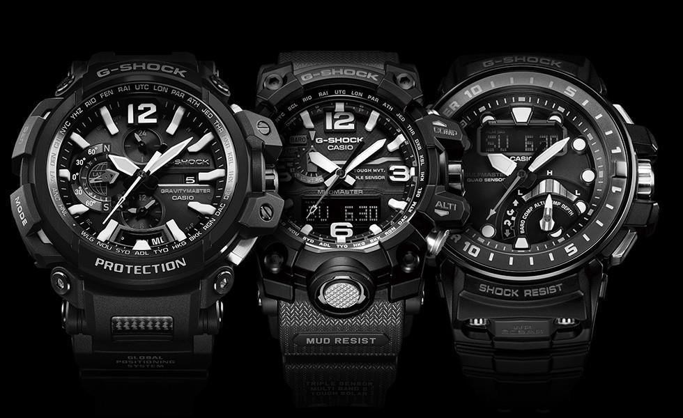 CASIO G-SHOCK Houževnaté hodinky 309ca715688
