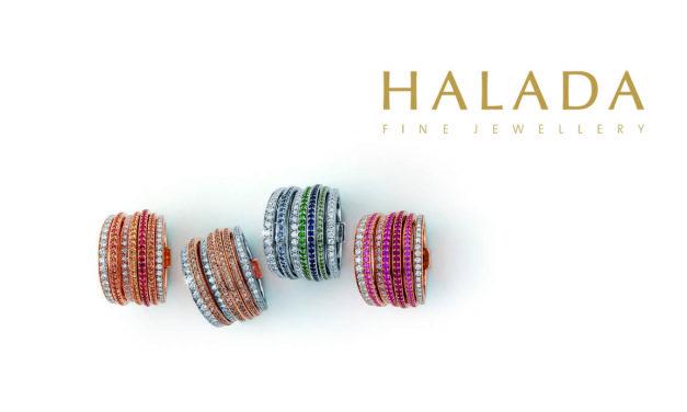 Halada šperky v barvě moře