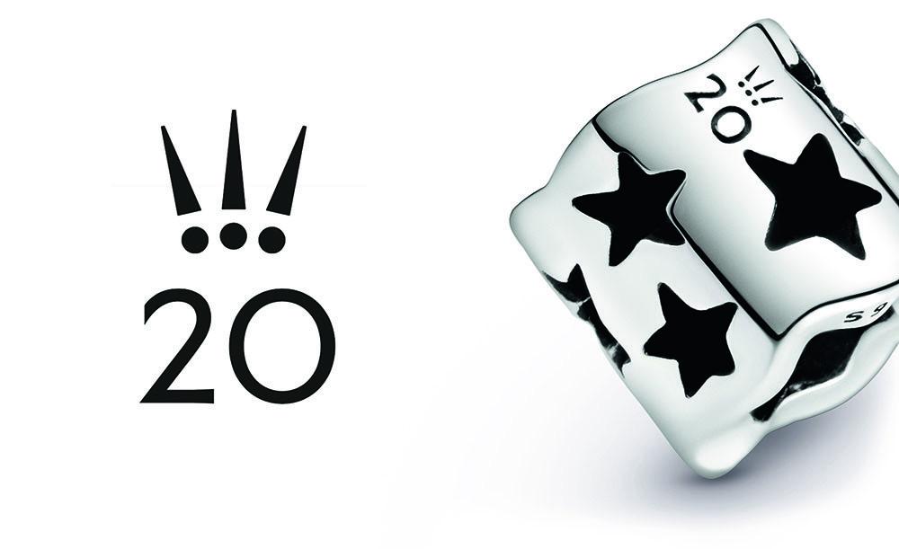 Pandora limitovaná edice s přívěskem Hvězdy