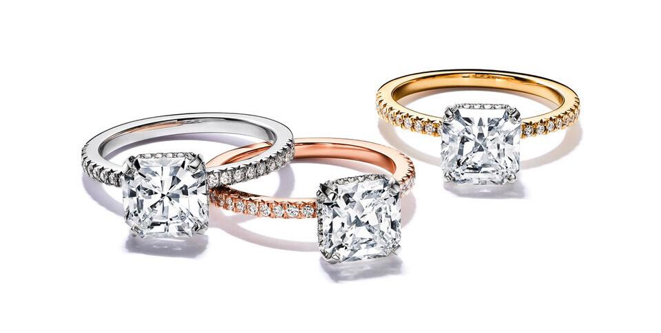 Tiffany & Co. Zásnubní prsteny