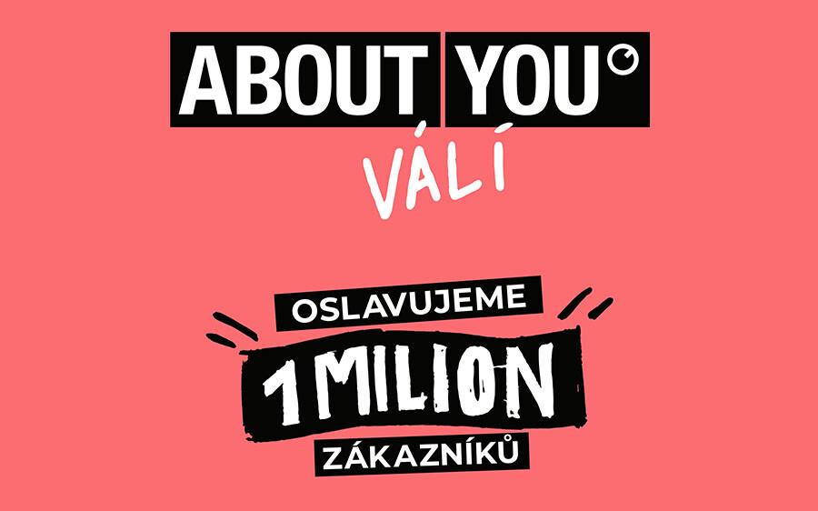 ABOUT YOU slaví 1 milion zákazníků v ČR
