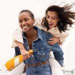 Veuve Clicquot se značkou trendy barevných pláštěnek K-WAY®